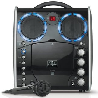 portable cd g karaoke machine
